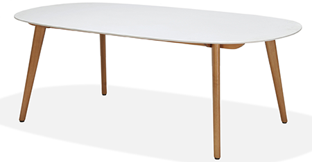 Montreux – White, Dining Table