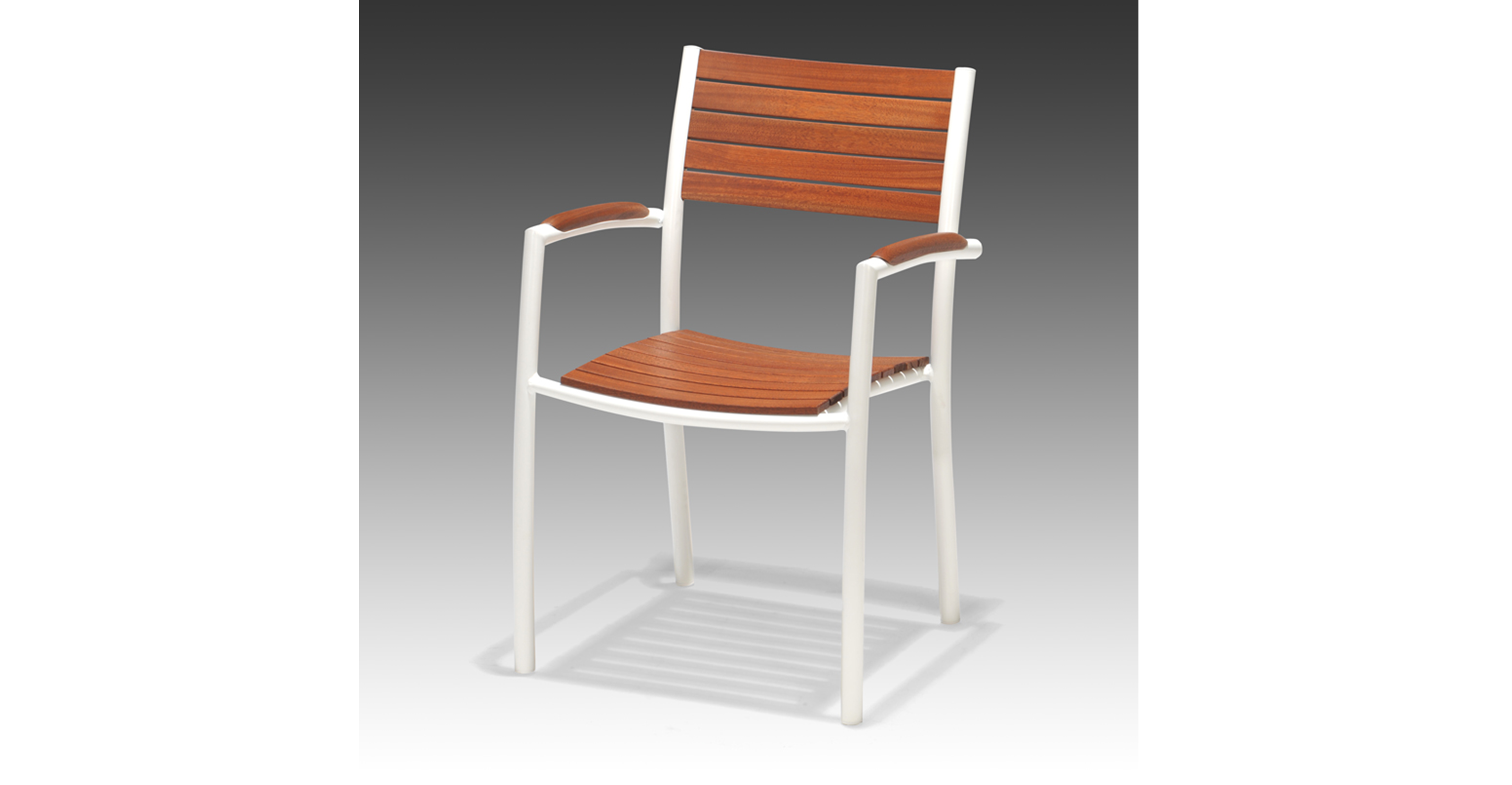 Monza stacking chair